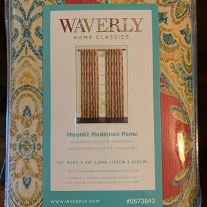 Waverly Home Classics Moonlit Medallion Curtains